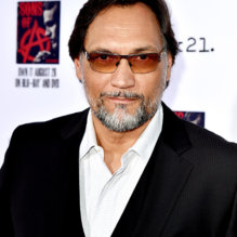 "LOS ANGELES, CA - SEPTEMBER 06:  Actor Jimmy Smits arrives at the season 7 premiere screening of FX's ""Sons of Anarchy"" at the Chinese Theatre on September 6, 2014 in Los Angeles, California.  (Photo by Kevin Winter/Getty Images)"